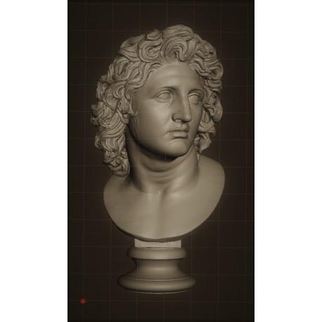 LB 329 Alessandro Magno h. cm. 50
