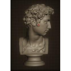 SM 53 Busto Giuliano De' Medici h. cm. 13