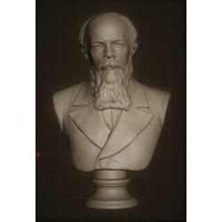 SM 62 Busto di Dostoevskijh. cm. 13