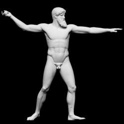 LS 414 Statua Zeus h. cm. 185