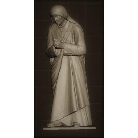 RID 75 Madre Teresa di Calcutta h. cm. 100