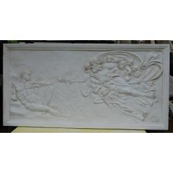 LR 164 Bassorilievo La Creazione di Adamo h. cm. 81x160