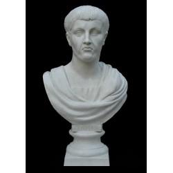 LB 7 Busto Claudio Imperatore Romano h. cm. 76