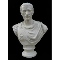 LB 8 Busto Giulio Cesare Imperatore Romano h. cm. 71