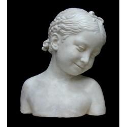 LB 40 Busto Bimba con nastrino h. cm. 32
