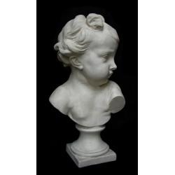 LB 76 Busto Putto di Houdon h. cm. 38