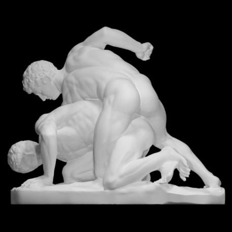 LS 372 I Lottatori h. cm. 95 – Museo degli Uffizi Firenze