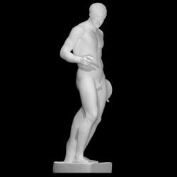 LS 366 Discobolo_di_Policleto h. cm. 175 (Museo Nazionale Romano di Palazzo Massimo)