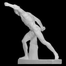 LS 365 Gladiatore_Borghese h . cm. 165 (Museo del Louvre – Parigi)
