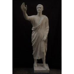 LS 320 Arringatore (Museo Archeologico Nazionale Firenze) h. cm. 187