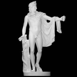 LS 351 Apollo_del_Belvedere h. cm. 176 (SMK Museo Nazionale di Scultura – Copenaghen – Danimarca