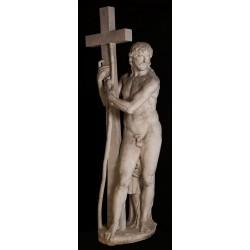 LS 323 Cristo Risorto di Michelangelo (Chiesa di Santa Maria – Roma) h. cm. 203