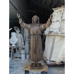 LS 167 San Francesco d'Assisi h. cm. 200
