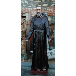 LS 166 Padre Pio h. cm. 190