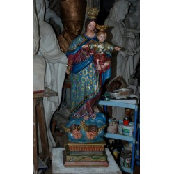 LS 196 Madonna Ausiliatrice h. cm. 110