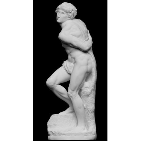 RID 30 Statua Schiavo ribelle di Michelangelo h. cm. 70