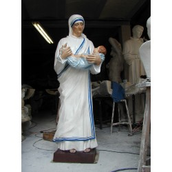 LS 172 Madre Teresa di Calcutta h. cm. 185