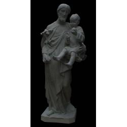 LS 168 San Giuseppe con Bambino h. cm. 130