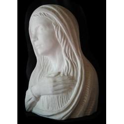 LR 65 Bassorilievo Volto di Madonna h. cm. 45x30