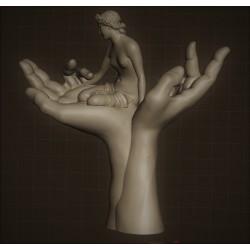 SM 28 Hand nimph h. cm. 50
